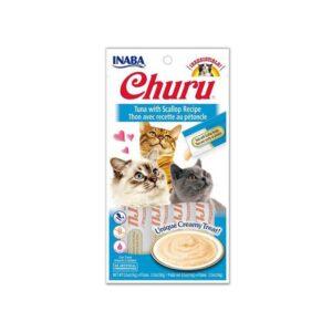 Alimento Para Gato – Inaba Churu Atun y Viera x 4 Unid
