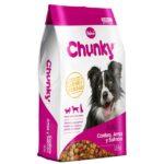 Alimento para perro -Chunky Cordero Arroz Y Salmon 12 KG