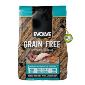 EVOLVE DOG GRAIN FREE DUCK 3,5lb