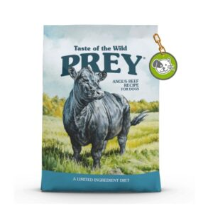 TASTE OF THE WILD TOW PREY ANGUS BEEF DOG 8Lb