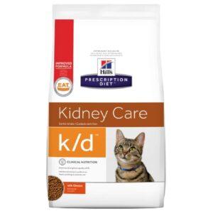 Alimento para gato -Hills Felino K/D 4 Lb