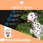 Agility Gold Grandes adultos Piel